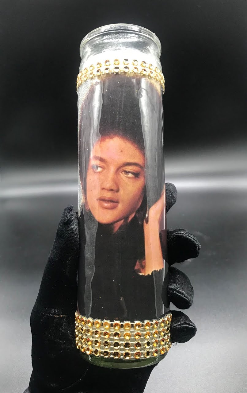 """Featured image for """"Kathleen Cleaver Candle"""""""